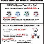 Soccer Ball Promotion
